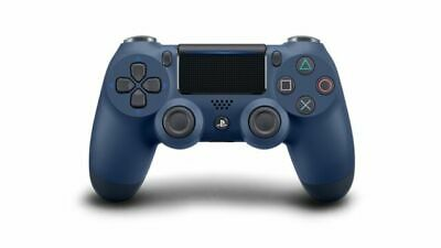 DualShock 4 Wireless Controller for PlayStation 4 - Midnight Blue, New