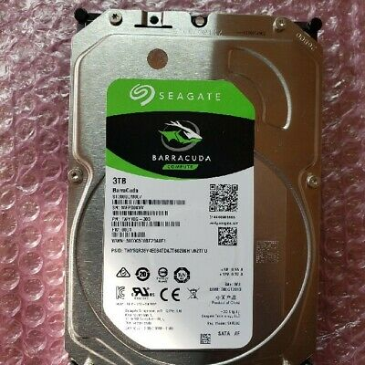 Seagate BarraCuda 3TB Internal Hard Disk 3.5 inch ST3000DM007 SATA 6Gb/s 256MB