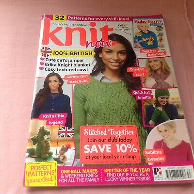 Knit Now Magazine With A Cute George And The Dragon To Knit St. Georges Day!