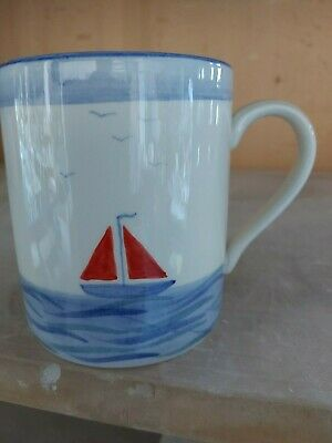 Studio Poole pottery boats design Mug and other items