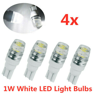 4X Car White T10 LED 6000K Side Wedge Light Bulb W5W 194 168 2825 501 192 158
