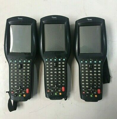 LOT OF 3 Cisco DataLogic Falcon #4410 Color PSC Handheld Barcode Scanner