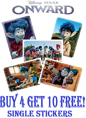 Panini Disney Onward Collection Album Starter Pack 4 Cards /& 22 Stickers