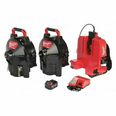 """MILWAUKEE 2775D-222 18V 5/8"""" Cordless Sectional Drum Drain Cleaning NEW"""
