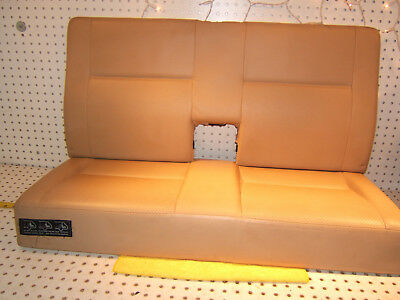 Mercedes W210 97-03 Wagon E320W rear LEATHER Creme beige bench 2 Pieces 1 Seat