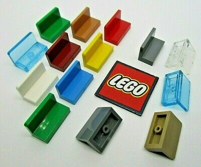 LEGO Panel 1x2x1 without Rounded Corners (Pack of 8) Choose Colour - 4865