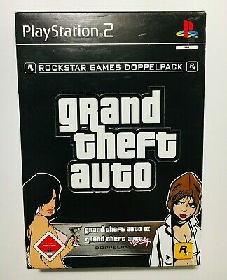 Grand Theft Auto | GTA 3 & Vice City Doppelpack | Playstation2 | PS2 | DVD´s Neu