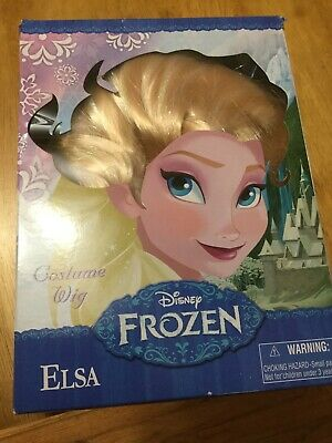 Disney Parks Authentic Frozen Elsa Wig Girls Kids Costume Play Braids New
