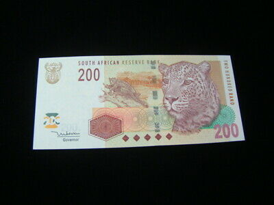 South Africa 2005 200 Rand Banknote Gem Uncirculated Pick #132a