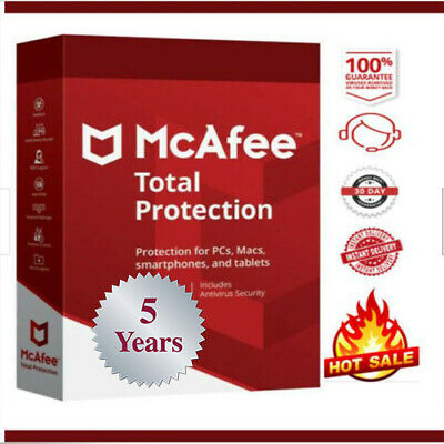 McAfee Total Protection 2020 One device / 5 Years 🔥instant delivery📩 🔥
