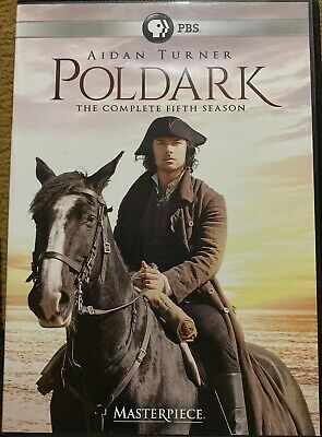 Poldark The Complete Fifth Season (DVD, 2019) ~ Brand New - Opened