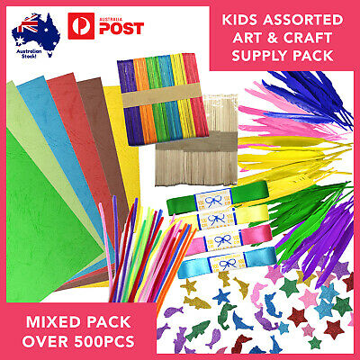 Arts/Craft Bundle Kids & Activities Project Supplies Assorted Pack over 500pcs