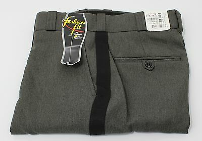 FLYING CROSS T-1 POLY UNIFORM PANTS 3904WT CASTILLIO GREY w/ STRIPE WOMENS 6X32