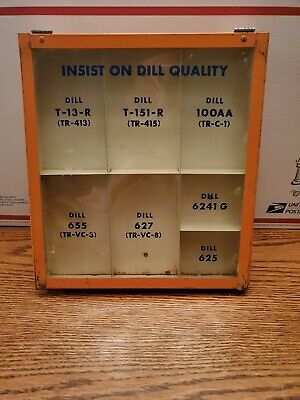 Dill Tire Hardware Display Case