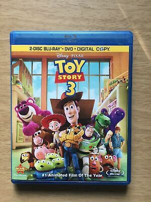 ✅ Toy Story 3 (DVD 2010 3-Disc Set NO BLU RAY Includes Digital Copy) AUTHENTIC✅
