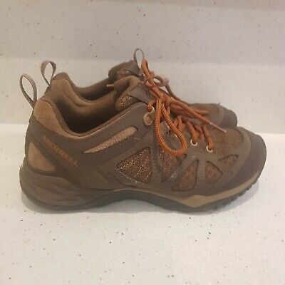 Merrell Size 7 (Eur 37.5 ) Brown Comfortable Hiking Waking Shoes