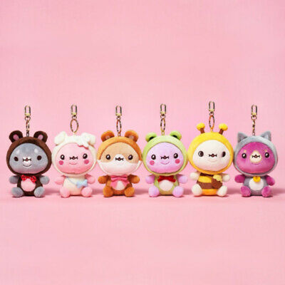 [Pre-Order] KPOP Idol MONSTA X x TWOTUCKGOM Official Animal Costume Keyring