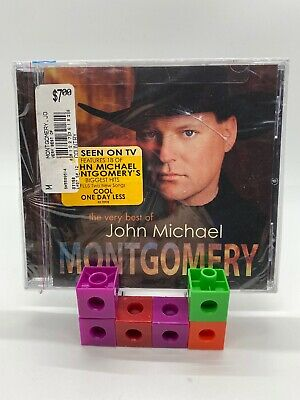 The Very Best of John Michael Montgomery by John Michael Montgomery CD BRAND NEW
