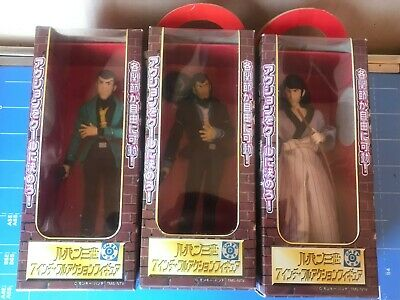 ③Banpresto,Lupin The 3rd 7 inch Full Action Figure,3 Items Complete Set