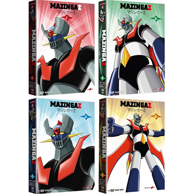 MAZINGA Z - Vol. 1+2+3+4 (23 Dvd)