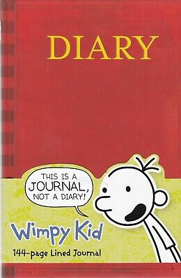 Diary of a Wimpy Kid Book Journal Hardcover