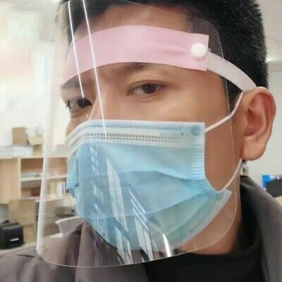 SAFETY FACE SHIELD With CLEAR FLIP-UP VISOR Shop Garden Industry Dental Charm
