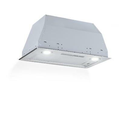 Campana extractora Empotrable 52 cm Salida 600 m³/h LED Touch Acero -B-STOCK