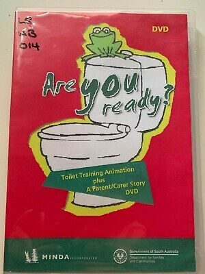 ARE YOU READY? Tom's toilet triumph DVD, Potty training, toddler, special needs