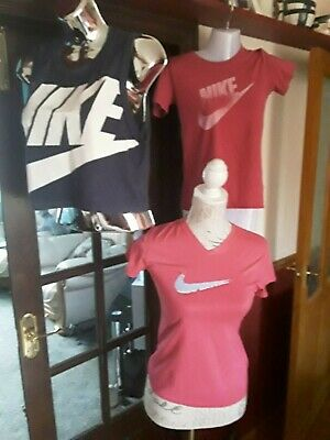 Girls Pink Nike Top Bundle Size L Or 12 To 13 Years