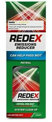 Redex Petrol Advanced Emissions Reducer 400ml Can Help With MOT Engine Clean Up!