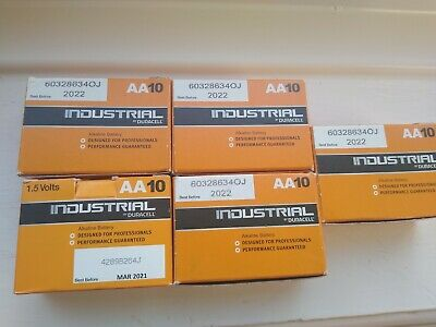 Duracell industrial aa batteries 46