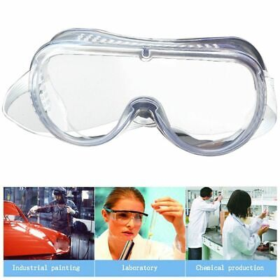 1pc Safety Goggles Vented Glasses Eye Protection Lab Anti Fog Dust Pratical