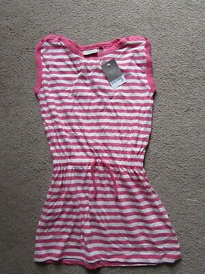 BNWT - NEXT Girls Pink & White Tunic - Age 7 years - RRP £8