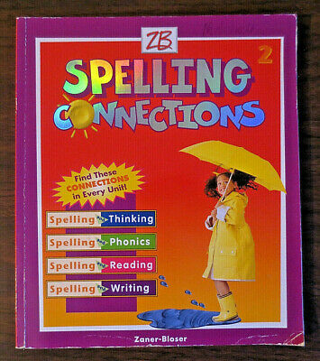 SPELLING CONNECTIONS Student Workbook - Grade 2 For Homeschooling (Zaner-Bloser)