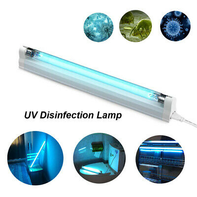 Ultraviolet Germicidal Tube Lights UV Ozone Disinfection Lamp UVC Sterilizer