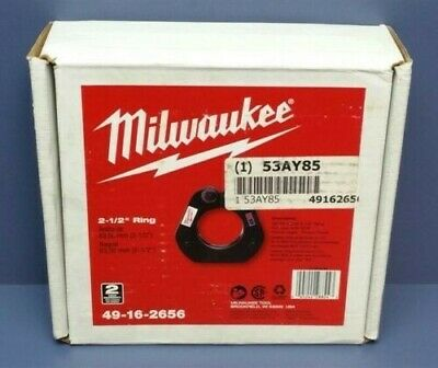 "Milwaukee M18 Force Logic Press Tool 2-1/2"" Ring 49-16-2656- FREE Shipping"
