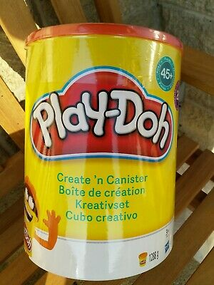 Play-Doh Create 'n' Canister kit set 20 TUBS 45 Accessories.