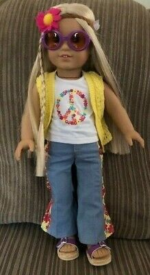 American Girl Julie Albright Blonde Hair 1970s Character Doll