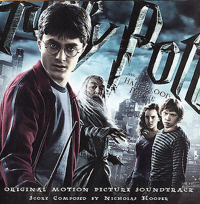 Harry Potter And The Half-Blood Prince by Nicholas Hooper CD Soundtrack Score NM