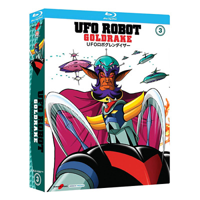 UFO ROBOT Goldrake - Vol. 3 (3 Blu-ray)