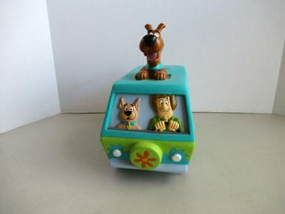 "1999 SCOOBY DOO TIME MACHINE Vinyl BANK with Stopper 8"" Long with Stopper"