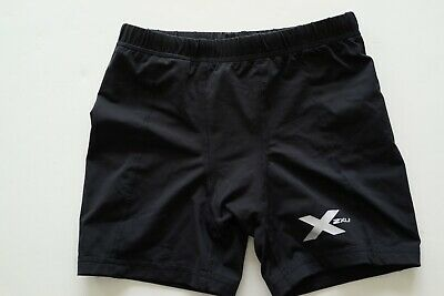 2xu black compression shorts…size youth large…vgc...