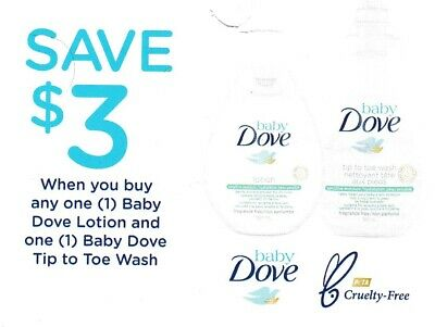 save on DOVE BABY LOTION WASH + Bonus [Canada]