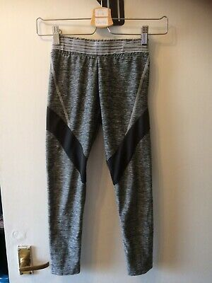 Next Girls Sports Dance Leggings Joggers Jogging Bottoms Grey Age 9