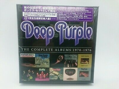 C-0011 Cd Input Complete Production Limited Deep Purple The Albums 1970-1976 10