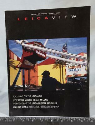 Leica View Magazine Photography Fall 2003 g25