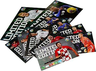 Adrenalyn Xl Euro 2020 Limited Edition Treading Cards Limited Edition Xxl