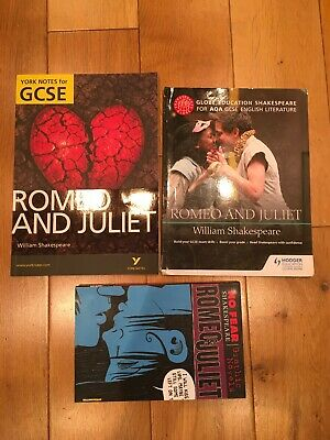 Romeo and Juliet Shakespeare GCSE Revision Notes Education Learn JOBLOT