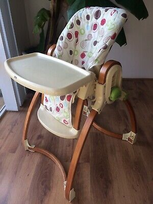 Fisher Price Highchair Adjustable Height & Recliner