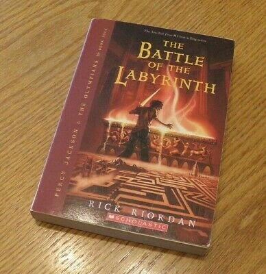 THE BATTLE OF THE LABYRINTH (Percy Jackson & the Olympians, Volume 4) by Rick Ri